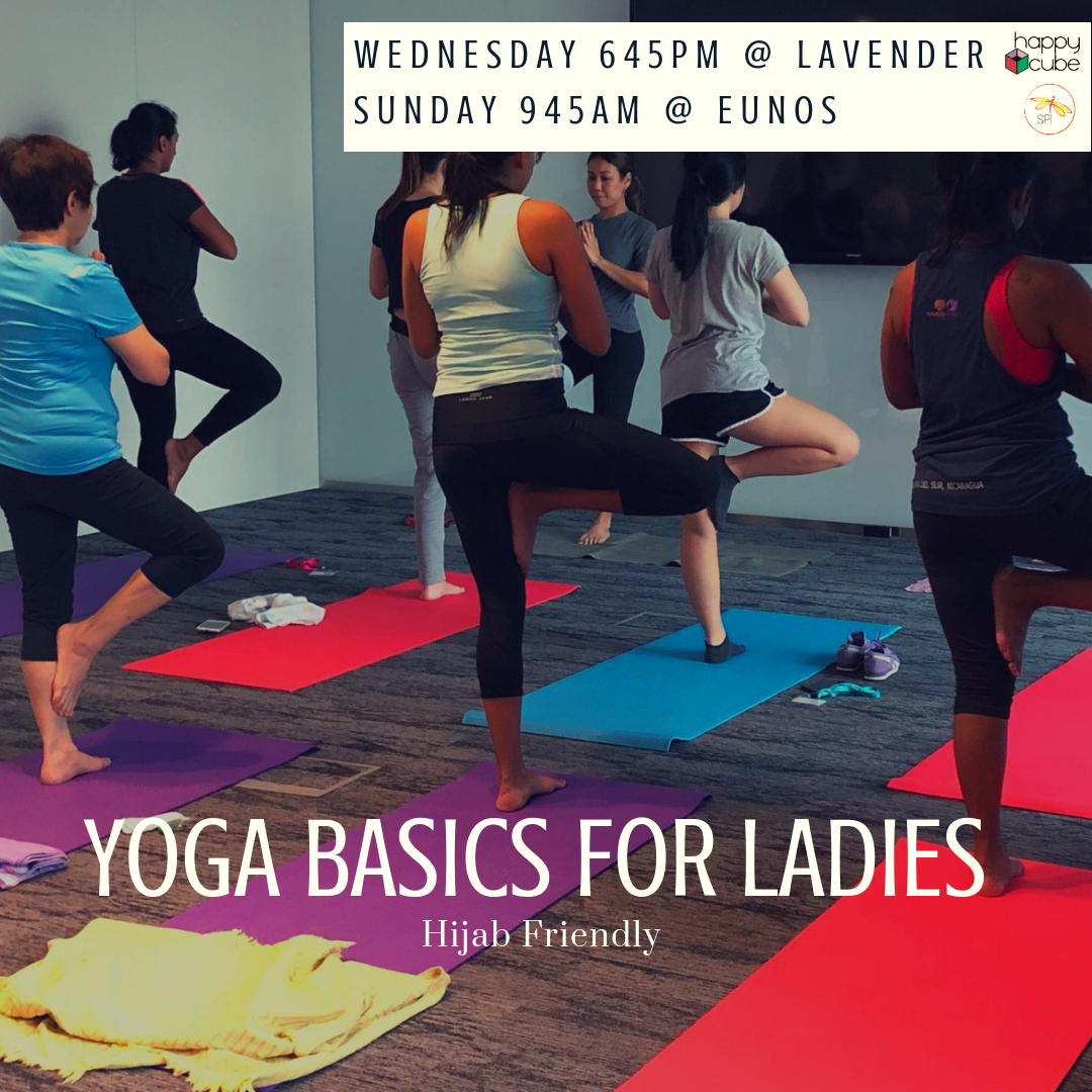 In celebration of Hari Raya, we have our Ladies Special Yoga
